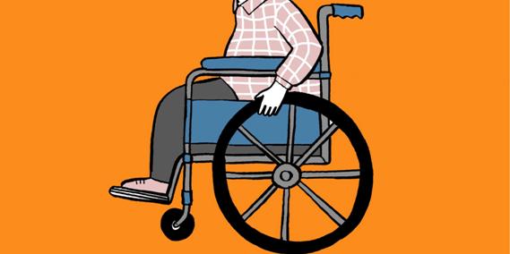 Penyandang Disabilitas perlu perhatian khusus dari dinas terkait.